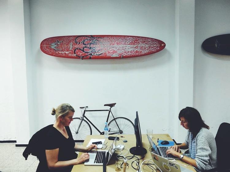 Surf Office, Grand Canaria, Espanha